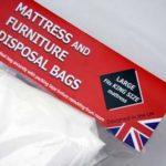 Heavy duty mattress and furniture disposal bags from Cimexine Sure-Guard.