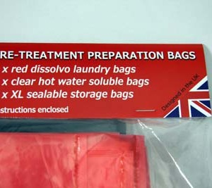 Insect Treatment Preparation Laundry Kit