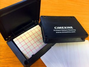 Cimexine Bed Bug Monitoring System