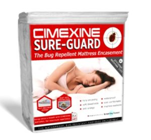 Bed bug proof mattress encasement