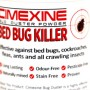 Bug Duster Bed Bud Killer label