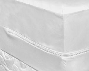 Fitted mattress encasement